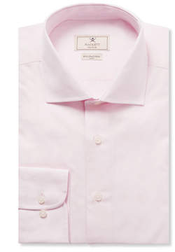 Hackett Pink Mayfair Slim-Fit Cotton-Poplin Shirt