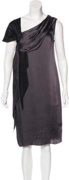 Mantu Satin Sleeveless Dress w/ Tags