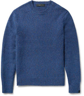 Rag & Bone Lucas Donegal Virgin Wool-Blend Sweater