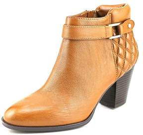 Alfani Wakefeld Women Pointed Toe Leather Brown Bootie
