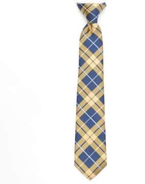 Chaps Boys Plaid Clip-On Tie