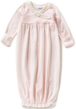 Edgehill Collection Edgehill Collectioin Baby Girls Newborn-6 Months Ruffle Detailed Coverall