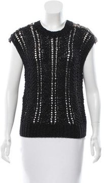 Adam Sequined Shoulder Top w/ Tags