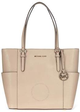 Michael Kors Jet Set Travel Large Leather Tote- Truffle - ONE COLOR - STYLE