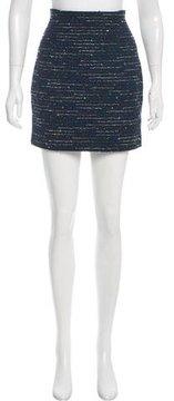 Christian Dior Metallic Tweed Skirt
