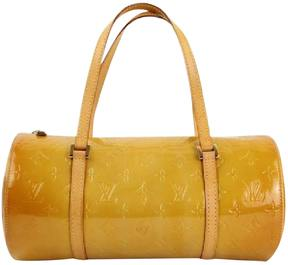 Louis Vuitton Bedford patent leather handbag - YELLOW - STYLE