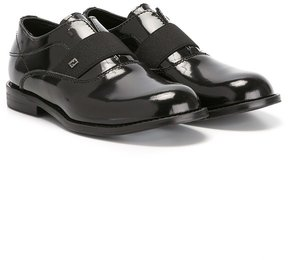 Fendi Kids slip-on loafers