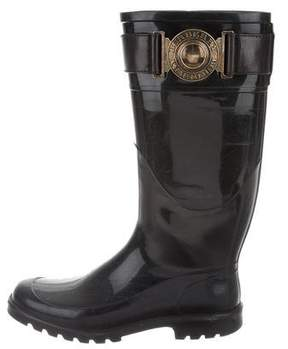 Burberry Rubber Knee-High Rain Boots