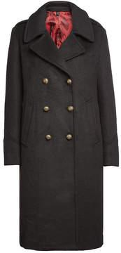 Blauer Coat with Wool