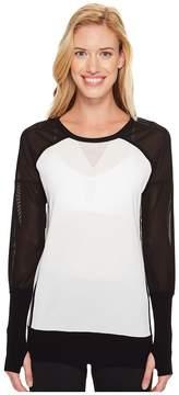 Blanc Noir Mesh Vent Sweater Women's Sweater