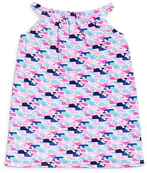 Vineyard Vines Girls' Whale Print Dress - Little Kid, Big Kid