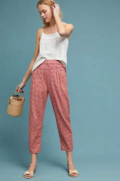 Anthropologie Longshore Cropped Pants