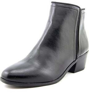 Karen Scott Fannia Women Round Toe Synthetic Black Ankle Boot.