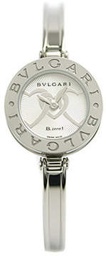 Bvlgari B.zero1 Silver Dial Stainless Steel Ladies Watch