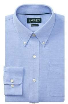 Lauren Ralph Lauren Classic-Fit Printed Cotton Dress Shirt