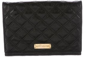 Marc Jacobs All In One Quilted Wallet on Chain - BLACK - STYLE