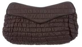 Lauren Merkin Quilted Leather Clutch