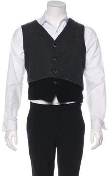 Barena Venezia Colorblock Suit Vest