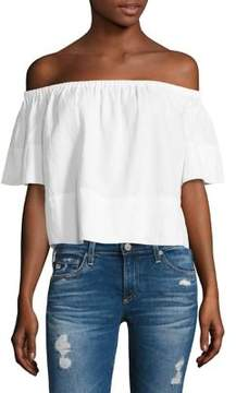 AG Jeans Sylvia Off-the-Shoulder Top