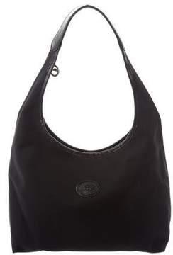 Longchamp Leather-Trimmed Nylon Bag