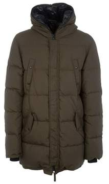 Duvetica Men's Brown Polyamide Coat.