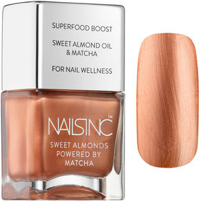 Nails Inc Mayfair Market Sweet Almond Polish Powered By Matcha