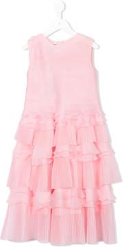 Oscar de la Renta Kids ruffled dress