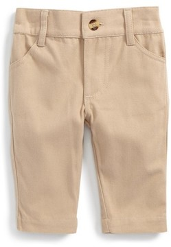 Andy & Evan Infant Boy's Stretch Cotton Twill Pants