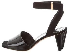 Celine Square-Toe Ankle Strap Sandals
