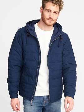 Old Navy Hooded Quilted Poplin Jacket for Men