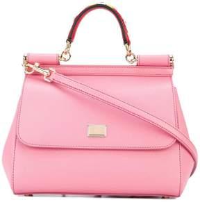 Dolce & Gabbana small Sicily shoulder bag - PINK & PURPLE - STYLE