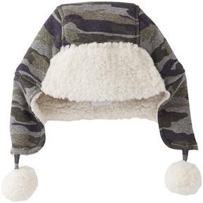 Mud Pie Camo Sherpa Hat Caps