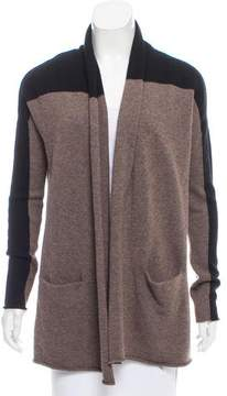 Brochu Walker Wool Open-Knit Cardigan