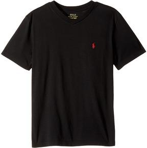 Polo Ralph Lauren Kids - Cotton Jersey V-Neck T-Shirt Boy's T Shirt