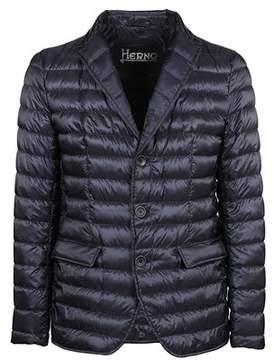 Herno Men's Pi0443u120209201 Blue Polyamide Blazer.