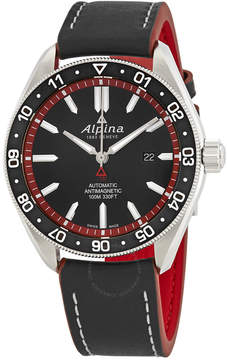 Alpina Alpiner 4 Automtic Black Dial Men's Watch
