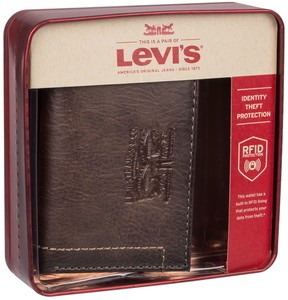 Levi's Levis Men's RFID-Blocking Trifold Wallet