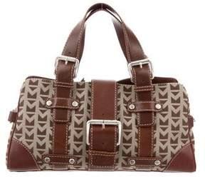 MICHAEL Michael Kors Leather-Trimmed Woven Bag