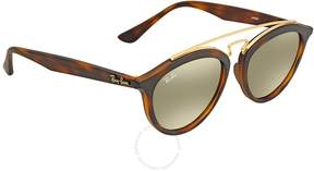 Ray-Ban Gatsby II Round Gold Mirror Sunglasses