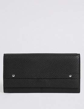 Marks and Spencer Leather Grainy Purse with CardsafeTM