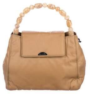 Christian Dior Bead-Embellished Handle Bag