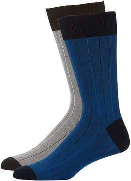 Zanella Men's Striped Socks Two-Pack