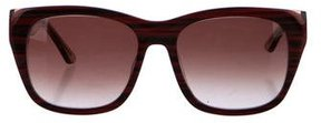 Thierry Lasry Striped Gradient Sunglasses