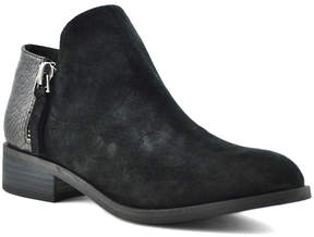Very Volatile Black Greyson Suede Ankle Boot