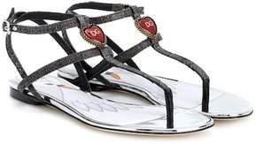 Dolce & Gabbana Embellished sandals