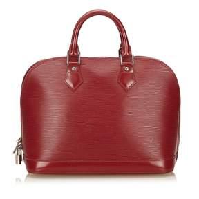 Louis Vuitton Alma leather handbag