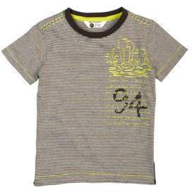 Petit Lem Toddler's & Little Boy's Striped Graphic Tee
