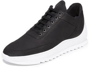 Filling Pieces Heel Cap Low Top Sneakers