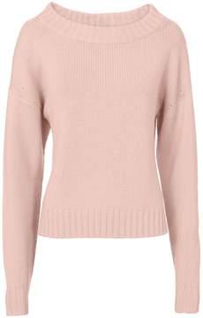 Derek Lam Pink Cropped Sweater