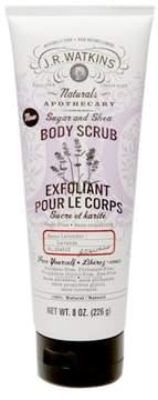 JR Watkins Naturals Sugar & Shea Body Scrub Lavender